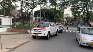 Caravana Alvaro Uribe
