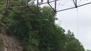 Bridge Jump Fail