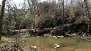 Rushing water creek