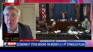 Wall to Wall: Stephen Moore on Biden Stimulus Proposal