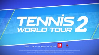 Tennis World Tour 2 Gameplay Trailer