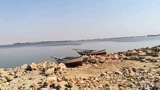 Kids Morning Play In Qaroun Wonder Lake Egypt