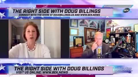 Sidney Powell with Doug Billings
