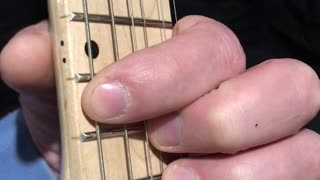 Beginner Guitar, Slide Down And Up One Half Step