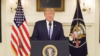"""President Trump Addresses The Nation: """"Our incredible journey is only just beginning """""""