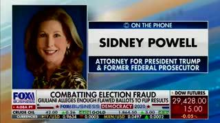 Sidney Powells says Tucker Carlson is maligning her...et tu Tucker?