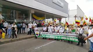 Marcha del Silencio en Bucaramanga