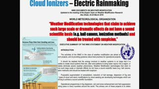 Global Warming 07: Jim Lee, Weather Modification And Weaponizing Nature