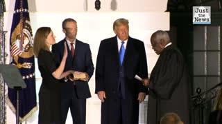 Senate confirms Trump nominee Amy Coney Barrett to Supreme Court, solidifying conservative majority