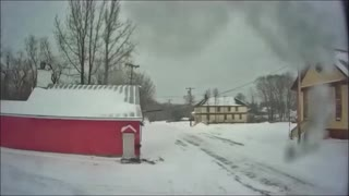 Maine Winter Storm Timelapse | 01/02/2021 | 12 Hours in 80 Seconds.