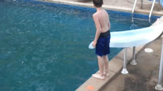 First time jumping off