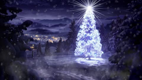 The Christmas atmosphere is beautiful