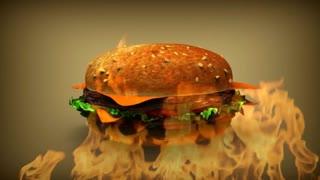 Design Sandwich Hamburger 3D
