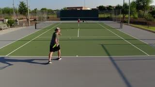 Improving forehand shoulder turn