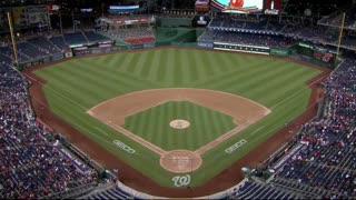 Fans scramble, four injured in shooting during Nationals baseball game