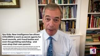 Nigel Farage On The Coronavirus Police State In United Kingdom