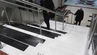 Toronto Has A Giant Piano Staircase
