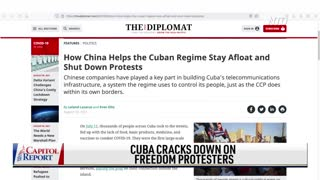 China Trains Cuban Police to Suppress Protests