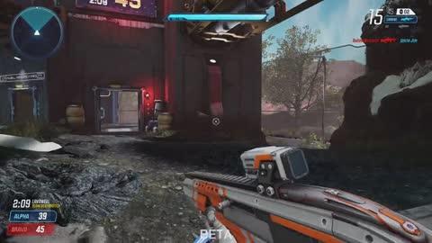 Splitgate Beta Gameplay