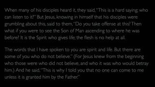 The Gospel of John - Chapter 6