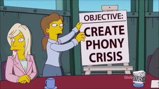 BREAKING : The Simpsons Expose COVID As Public Control Weapon !!