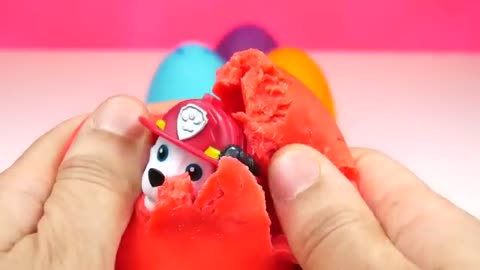 BEST LEARN COLORS - Colours to Learn - Learn Colors with Surprise Eggs Part 3