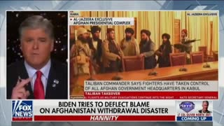 Hannity explains what happened in Afghanistan recently