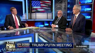 lou dobbs slams the morons in media over putin summit