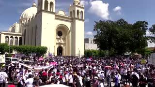 Thousands protest in El Salvador against Bukele