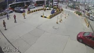 Accidente de tránsito en Pie de la Popa