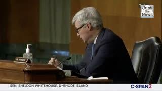 In Crossfire Hurricane hearing, Whitehouse slams FBI for 'tanked' Kavanaugh investigation