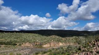 Desert vista timelapse