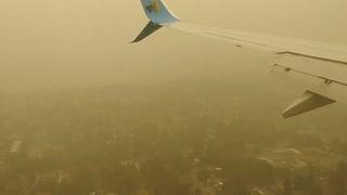 Smoke over Seattle