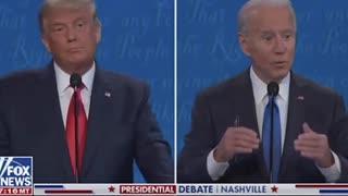 Trump shows strength while Biden peddles fear!