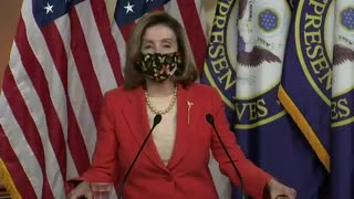 Pelosi: I'm Disappointed In Trump's Vaccine Handling