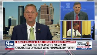 Rep. Doug Collins on declassifying names of Flynn 'unmaskers'