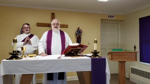 Mass on March 3, 2021