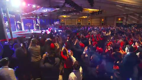 WATCH: President Trump arrives at #CPAC2021