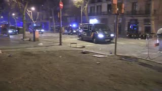 Protestas del independentismo catalán colapsan Barcelona