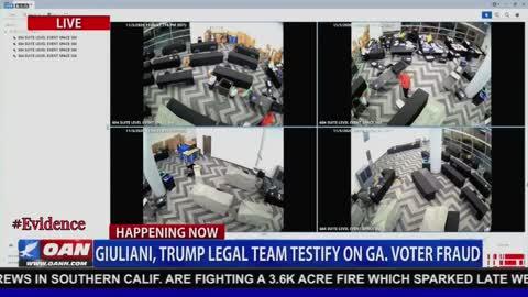 VIDEO EVIDENCE OF VOTER FRAUD - DOJ & FBI nothing to see here