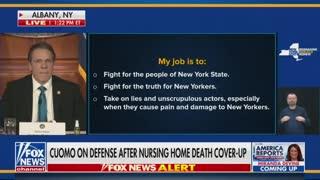 Andrew Cuomo blames misinformation