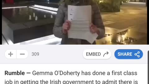 Ireland proves no isolation of virus