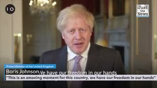 """British Prime Minister, Boris Johnson: """"This is an amazing moment for this country"""""""