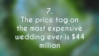 10 FASCINATING WORLD FACTS ABOUT WEDDINGS