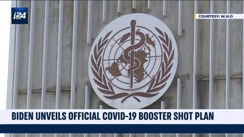 Joe Biden Unveils COVID-19 Booster Shot Plan