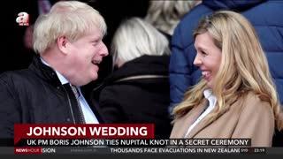 BRITISH Prime Minister BORIS JOHNSON WEDDING