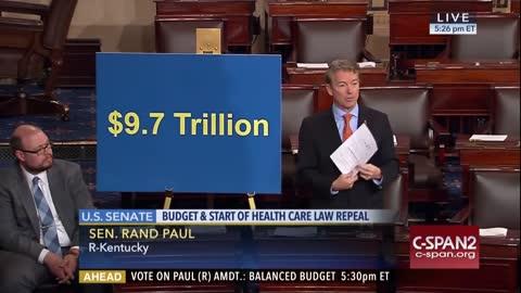 Sen. Rand Paul Speaks On Balanced Budget Amendment (Jan. 9, 2017) | The Washington Pundit