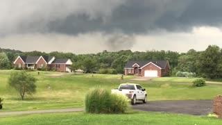 Tornado Forming in Corydon