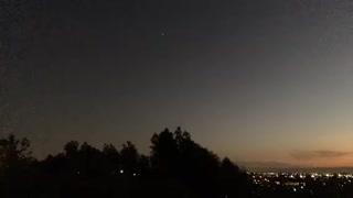 Northern California Sun Going Down