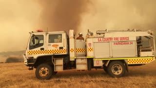 Fire Twister on Kangaroo Island